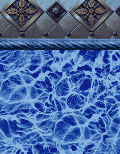Bayview Blue Diffusion Pool Liner