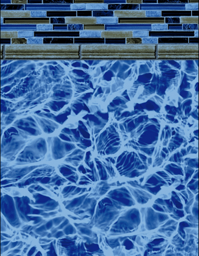 Mountain Blue Diffusion Pool Liner